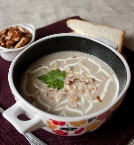 Крем суп из шампиньонов рецепт