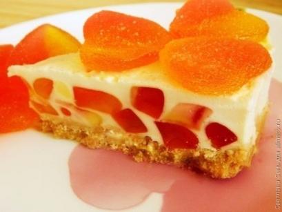 Торт-желе Нежность
