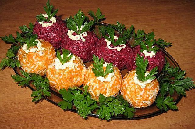 Овощные шарики Загадка